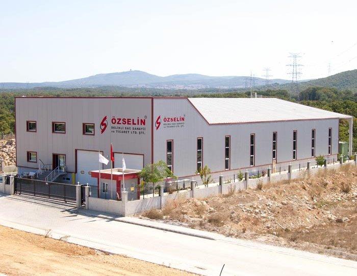 Özselin Delikli Saç Sanayi Yeni Fabrikamız